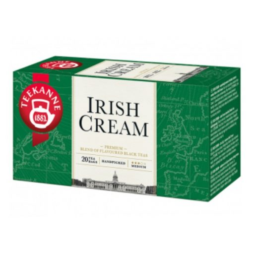 Irish cream Fekete Tea Tejszínnel Whiskey-vel - filter, 20 db, Teekanne, 33 g