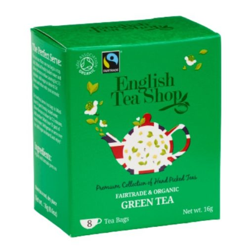 English Tea Shop Zöld Bio Tea - filter, 8 db, , 16 g