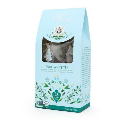 English Tea Shop Tiszta Fehér Bio Tea - piramis, 15 db, 30 g