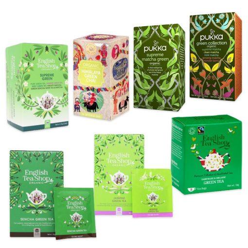 Haladó Zöld tea válogatás