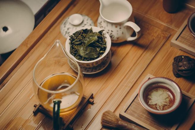 Agyserkentő zöld tea